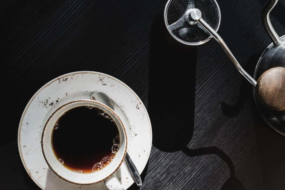 A Cup of Brewed Drip Coffee