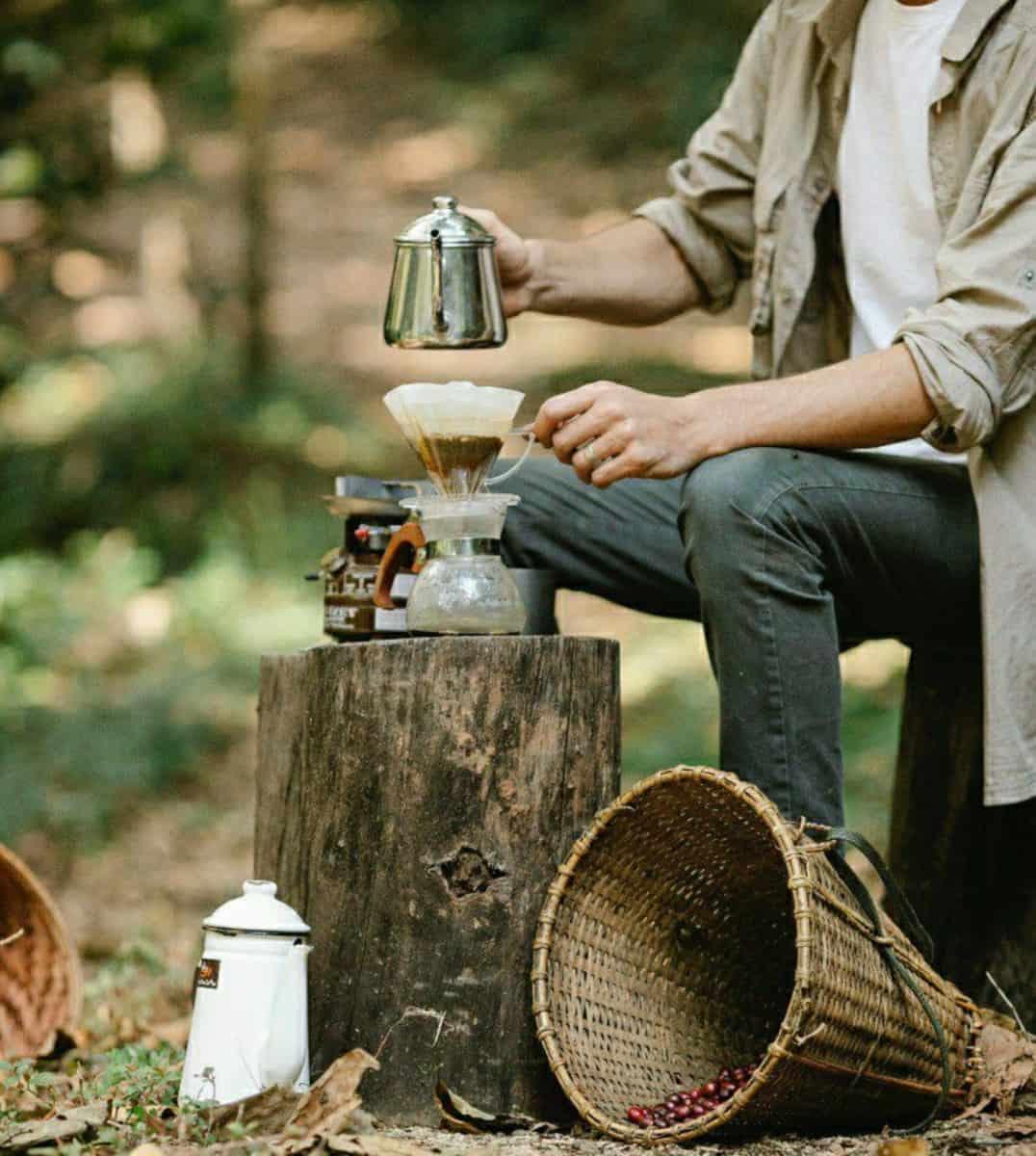 Brewing Sidama coffee the traditional way