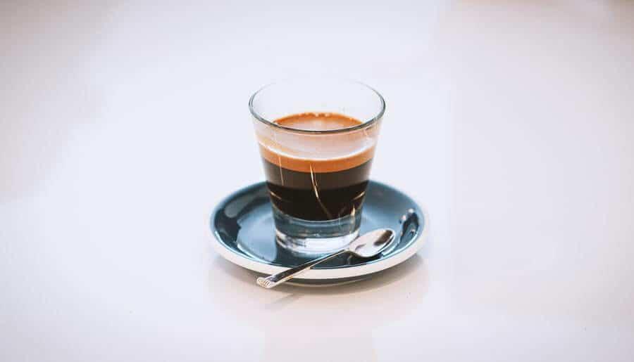 a shot of espresso