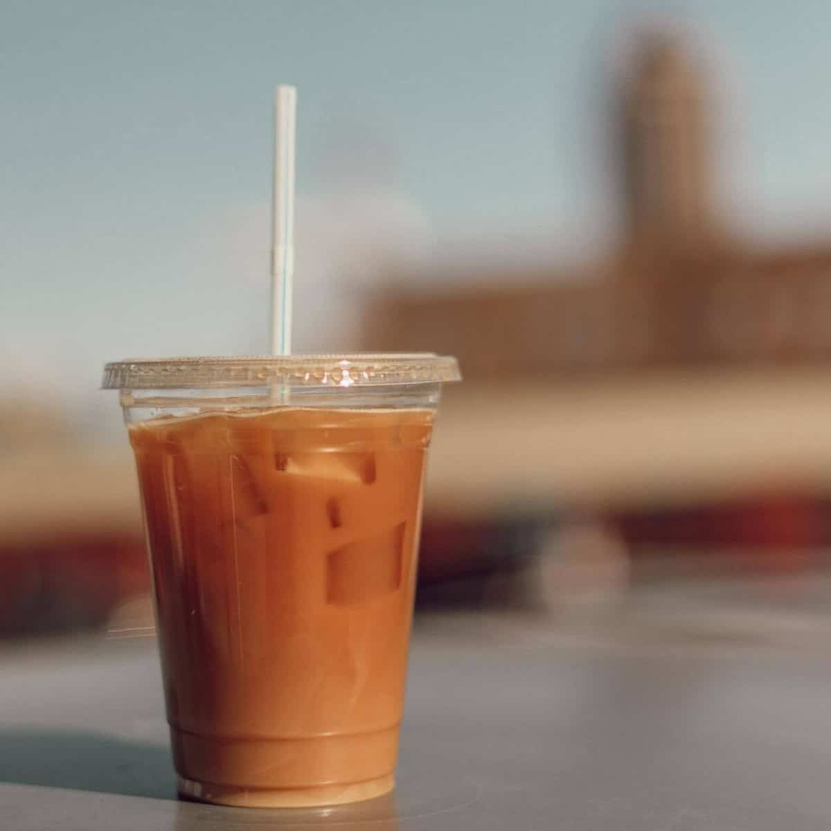 A cold brewed coffee
